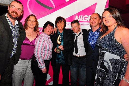 Glora at 2011 GALA Awards