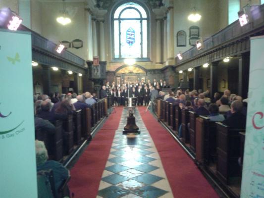 Gloria at St Werburghs Church 26th April 2013