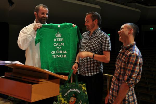 Adieu Johann! Gloria DLGC & Friends Summer Concert, NCH, June 2013
