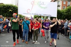 Gloria at Dublin Pride 2016