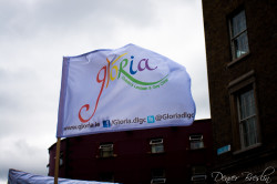 6.Gloria banner for Pride 25th June 2011