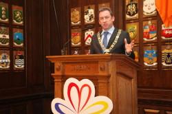 Lord Mayor of Dublin, Cllr Oisin Quinn
